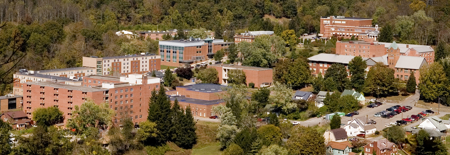 Skyline view of Glenville State College