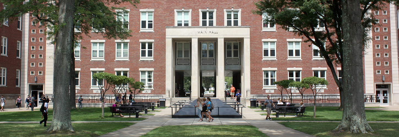 Main Hall at West Liberty University