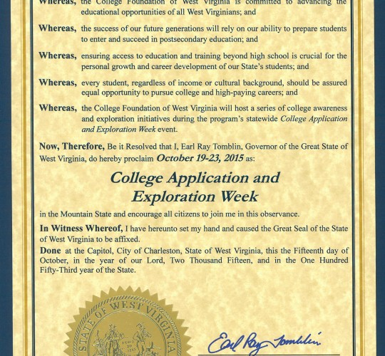 CFWV – Page 4 – West Virginia Higher Education Policy Commission