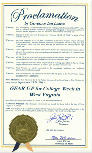 Governor's Proclamation