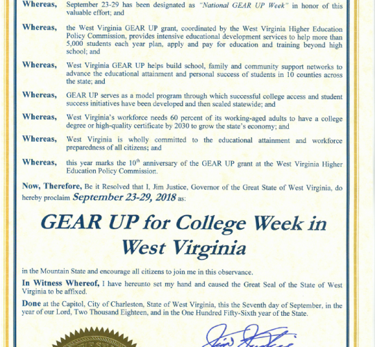 News – West Virginia Higher Education Policy Commission