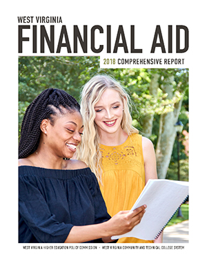 An image of the cover of the 2018 Financial Aid Comprehensive Report.