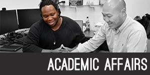 Academic affairs section header image