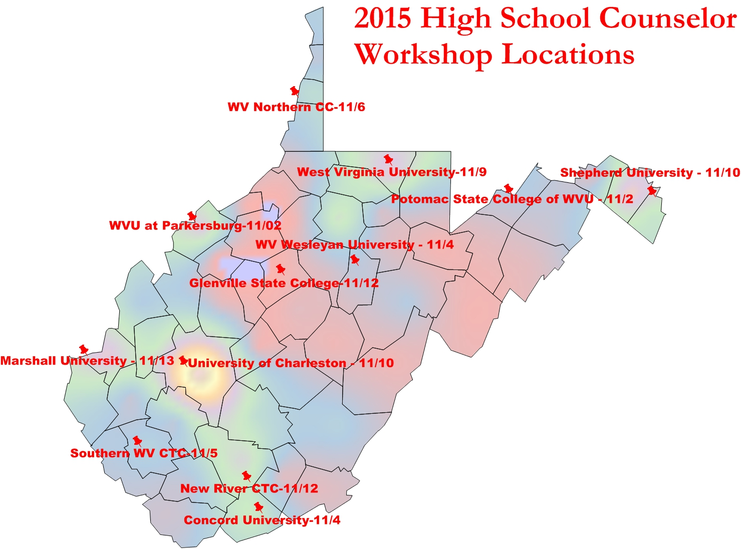 2015highschoolcounselor West Virginia Higher Education Policy
