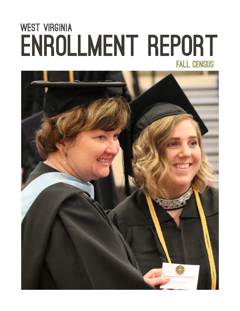 Enrollment report cover image