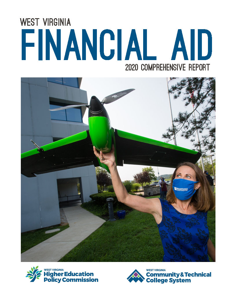 Front cover image for the financial aid comprehensive report.
